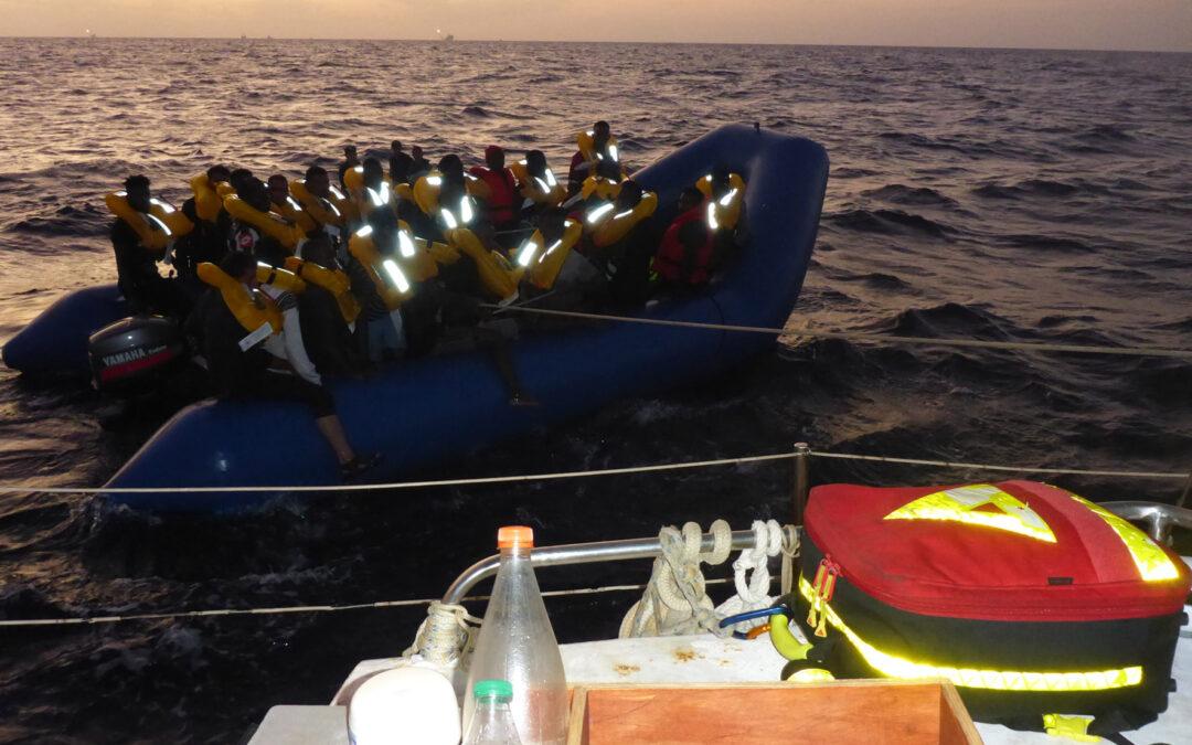 RESQSHIP-Crew rettet 34 Menschen