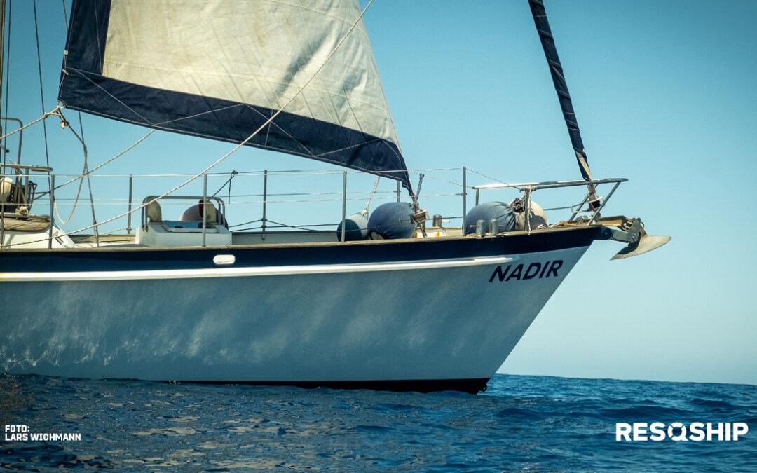 RESQSHIP startet Beobachtungsmissionen im Mittelmeer mit neuem Schiff Nadir