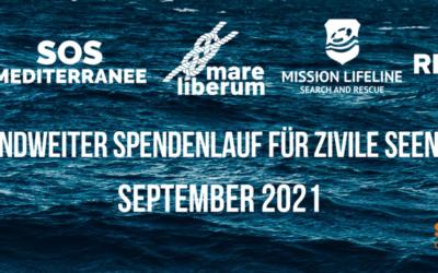 Run For Rescue – Spendenlauf für die Seenotrettung im September 2021
