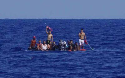 100 Menschen auf fünf Booten in Seenot geholfen